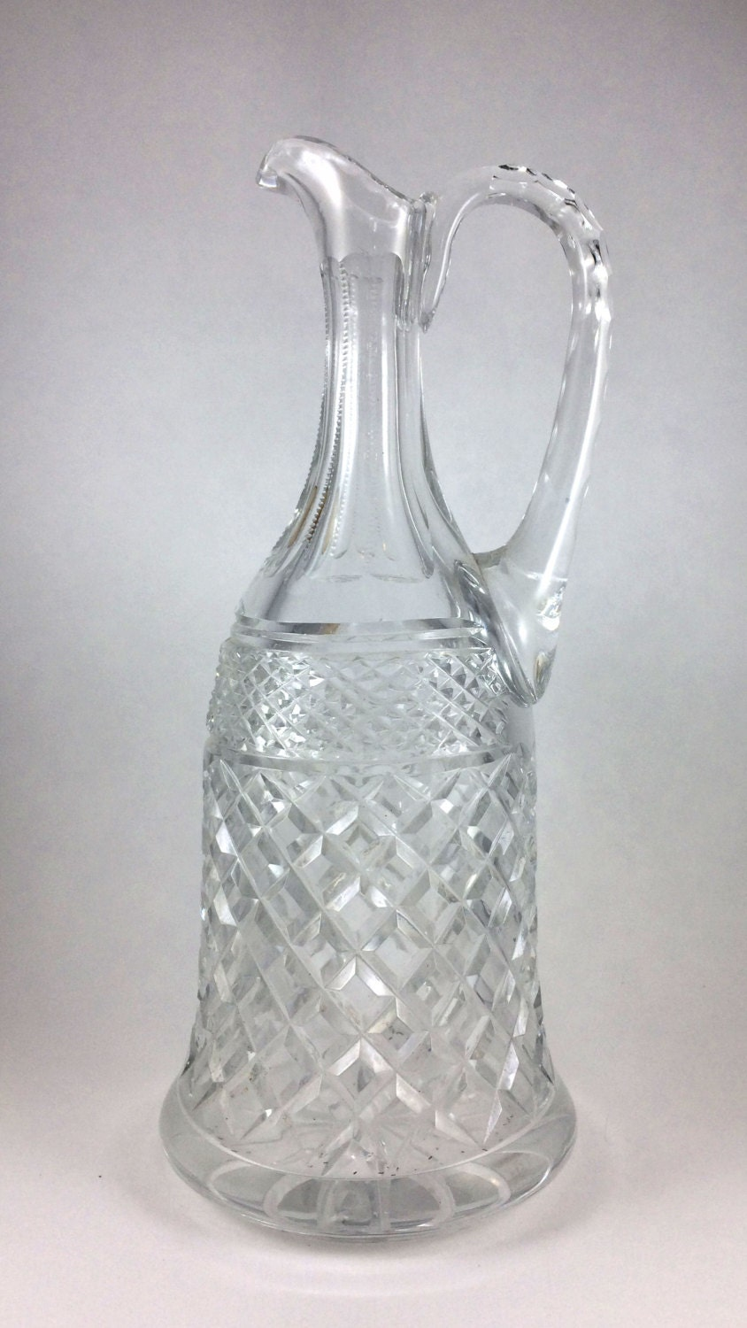 Lead Crystal Decanter made in Poland 11 inch