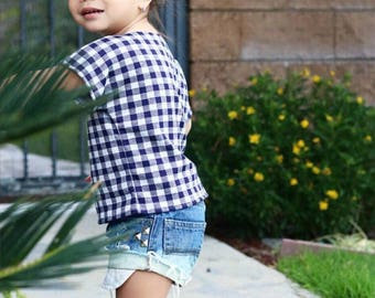 LUCY'S baby girl toddler ombre bleached cut off destroyed distressed studded denim jeans shorts