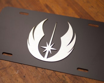 Star Wars - Jedi License Plate