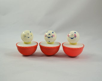 Vintage Carnival Game Floating Clowns Floating Duck Game