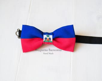 Bow ties flag Haiti, carnival season