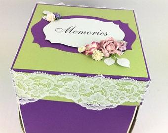 Box album, Box for photos, Memories box, Memories