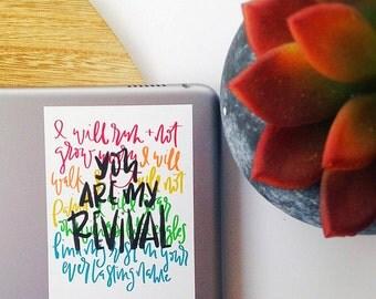 Revival {sticker}