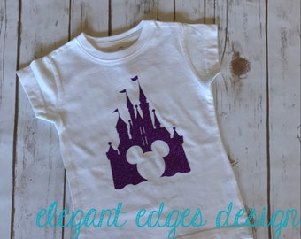 Mickey in Castle Childs Tshirt