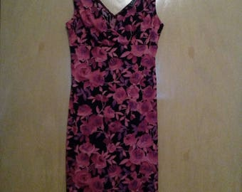 Clearance was 25 now 20.Flower pattern Dress by City Triangles