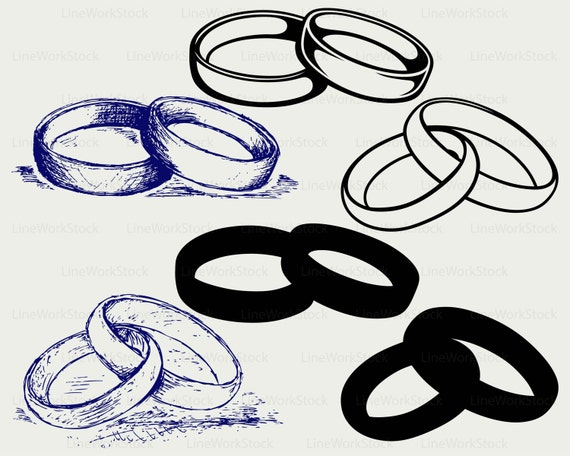 Wedding ring svgwedding ring clipartring svg
