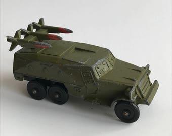 Soviet Vintage Toys/USSR War Toy/Diecast Metal Toys/Rocket Launcher/1980