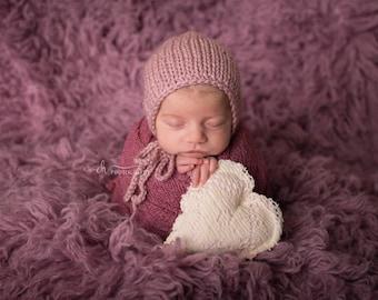 Berry Stretch Knit Wrap,Newborn Wrap,Newborn Photo Prop,Newborn Stretch Wrap,Photography Prop,Baby Wrap,Newborn Photography,Stretch Wrap