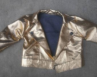 Shiny Gold Blazer