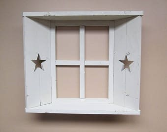 Window Shutter Shelve