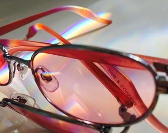 90s Nine&Company Rose Colored Glasses