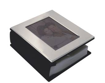 Personalised Silver Plated Photo- Album