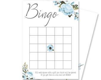 Printable Bingo Card   Baby Shower Bingo   Baby Boy Shower Decoration   Baby Bingo Cards   Boy Baby Shower Games   Brinsley Collection