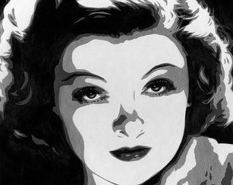 Myrna Loy Art Print