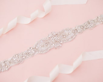 Bridal sash - wedding sash - rhinestone sash - crystal sash - bridal belt - wedding belt - rhinestone bridal belt - bridal sashes and belts