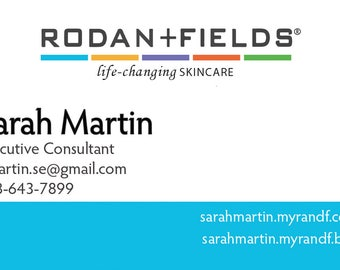 Rodan Fields Business Card