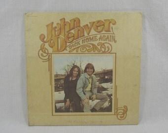 John Denver Vinyl LP Back Home Again RCA 1974 Folk Music Record Album