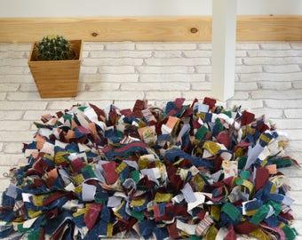 Rag Rug Handmade
