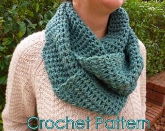 Crochet Infinity Scarf- Crochet Pattern