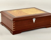 Australian handcrafted Document Box, Timber Document Box, Wood Document Box, gift for him.