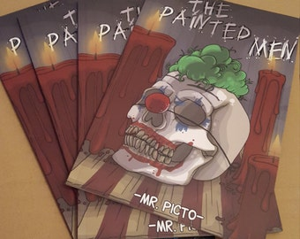The Painted Men and Knifingers comic books.