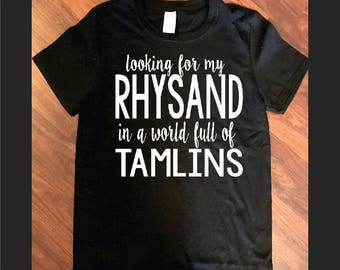 Looking for Rhysand Fandom shirt feyre rhysand a court of thorns and roses a court of mist and fury feysand night  court  sarah j maas