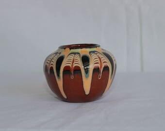 Vintage Bulgarian Pottery Vase