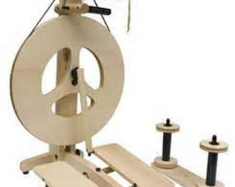Louet Victoria Spinning Wheel Instant 100 Dollar coupon In Stock Immediate Free Shipping