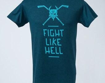 A goblin babe women 39 s labyrinth t shirt in ocean blue for Ocean blue t shirt