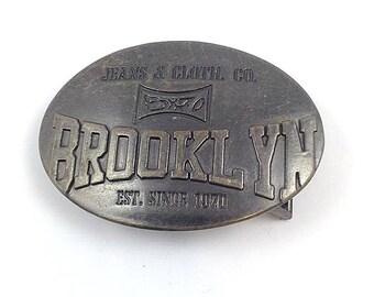 Vintage Jeans & Cloth. Co. BX70 Brooklyn Belt Buckle