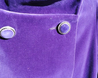 Fabulous Purple Velvet Coat