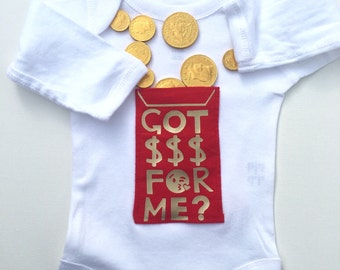 Personalized game of thrones baby outfit game of thrones baby chinese new year baby outfit lunar new year baby outfit red envelope bodysuit with negle Gallery