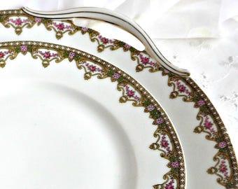 Limoges Plates, Vintage Chinaware, Fine Bone China, Vintage Kitchen, Limoges China Plates