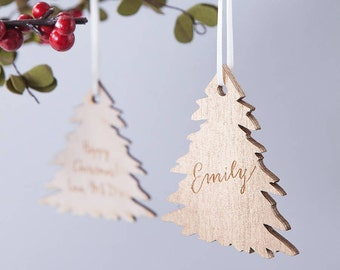 Personalisierte Gold Christbaumkugel Christbaumkugeln - Ornament - Weihnachtskugel - personalisierte Christbaumkugel - Weihnachtsbaum - Vintage Baum