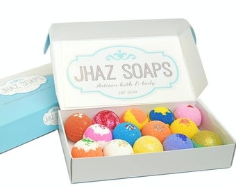 14 Bath bombs premium FREE SHIPPING gift set of bath bomb like lush dry skin 2.5 oz