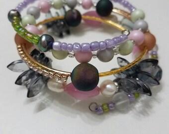 Carnevale Wrap  Bracelet