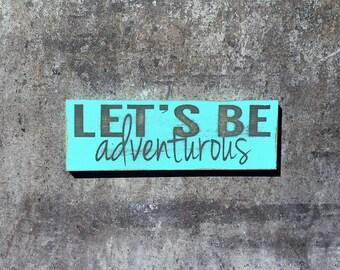 Let's Be Adventurous-MAGNET
