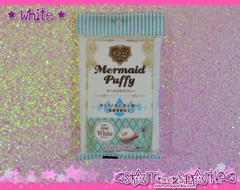 Mermaid Puffy White Water Resistant Air Dry Clay - Padico Japan Decollage for Fake Sweets & Charms