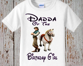 Rapunzel Dad Shirt - Tangled Dad Shirt