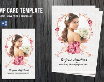 Free Model Comp Card Template | Comp Card Etsy