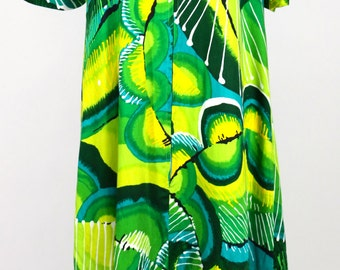 Psychedelic Caftan dress Maxi Dress