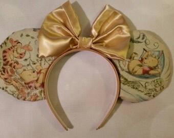 Winnie the Pooh reversable ears