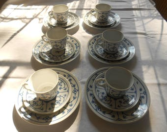 Coffee service for 6 people