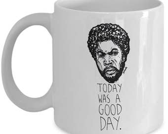 Today Was A Good Day Hip Hop Gift Mug - Rapper Lover Coffee Cup Art