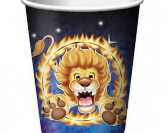 Ringling Brothers Circus ''Big Top'' Paper Cups 8ct