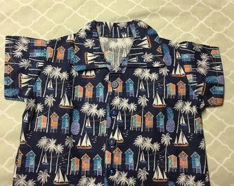 Baby boy Hawaiian shirt baby