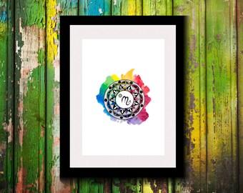 Printable Artwork-Digital Print-Wall Decor-Wall Art-Astrological Sign-Astronomy Decor-Scorpio Zodiac Print-Zodiac-Astrology Gifts-Gift