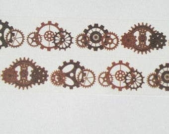 Design Washi tape steampunk gears