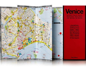 Red Map Venice City Guide
