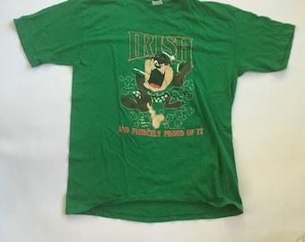 1990 Taz Irish Pride shirt